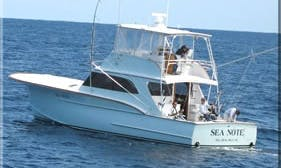 """North Carolina Fishing Charter On 55ft """"Sea Note"""" Yacht With Capt Benjie"""