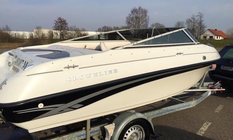 Hire Crowline 180 CD Powerboat In Bremen