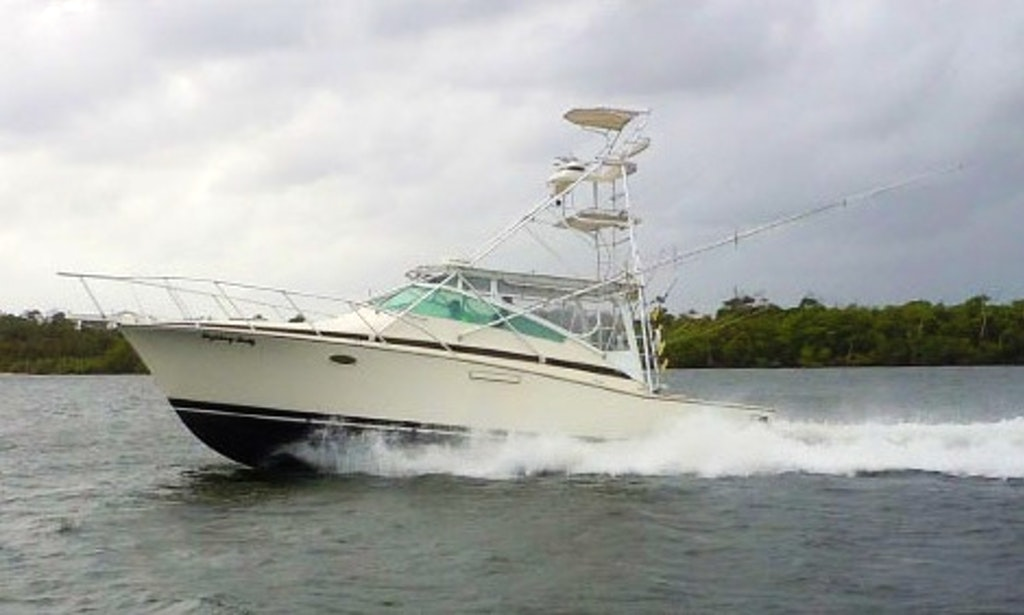38ft the fighting lady bertram sportfisher boat charter for Fishing charters west palm beach