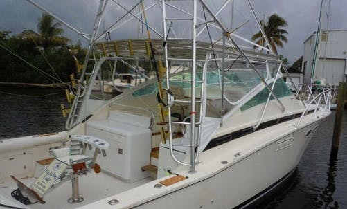 "38ft The ""Fighting Lady"" Bertram Sportfisher Boat Charter In West Palm Beach, Florida"