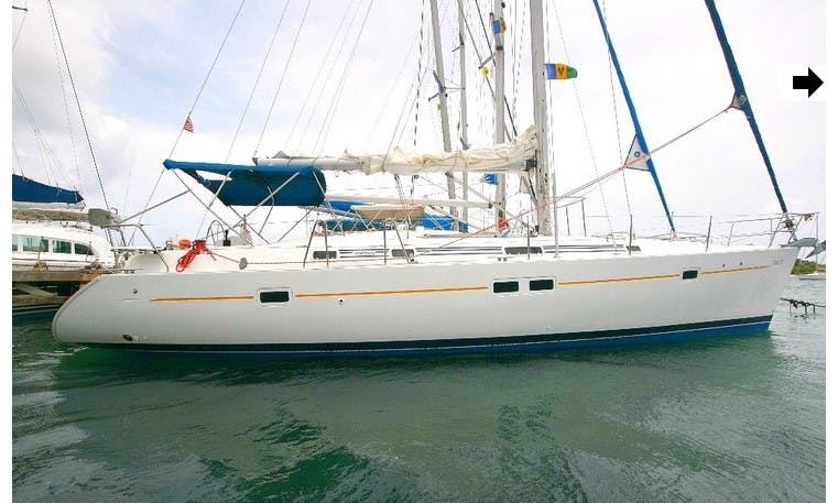 """Lady Di"" Beneteau 411 Charter in St Vincent"