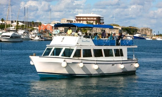 Hire A 48' Motor Cruiser In Bermuda