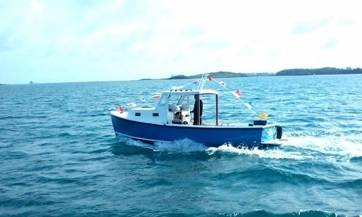 Nauset Motor Boat for Hire on Ireland Island