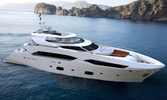 Charter Ferretti 780 Motored Yacht In Split