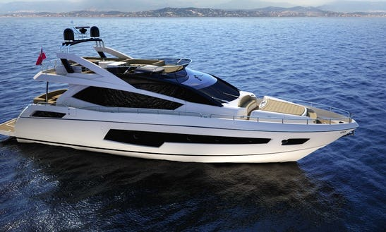 Charter Sunseeker 75 Luxury Motor Yacht In Split, Croatia