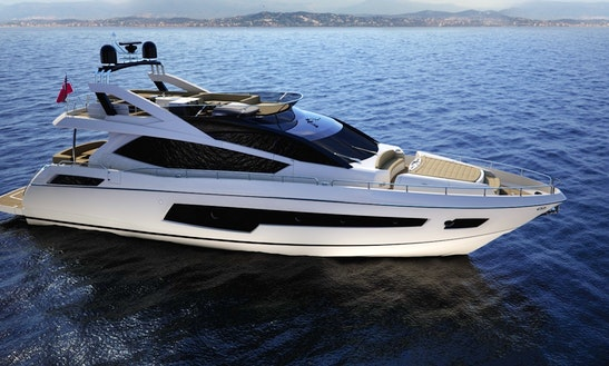 Charter Sunseeker 75 Motored Yacht In Split