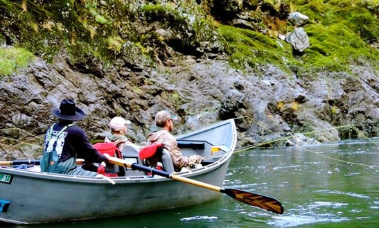 Rogue River Guided Fishing Trips In Oregon