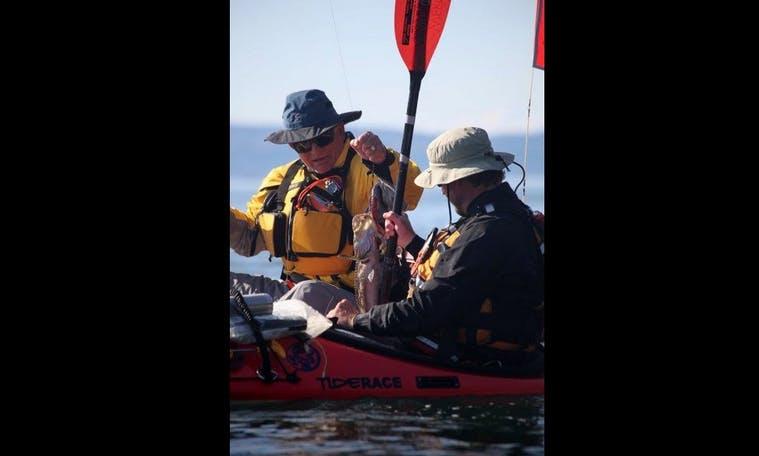Ocean Kayak Handline Fishing in Eureka, CA