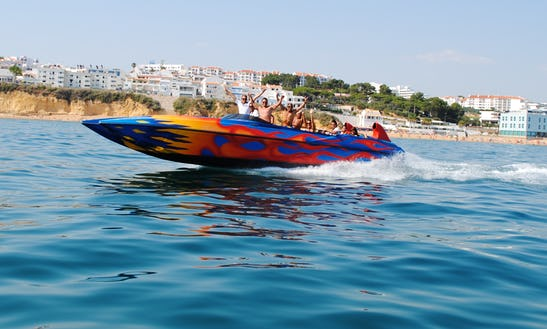 Charter A 36' Ocean Rocket Passenger Boat For 12 People In Albufeira, Faro