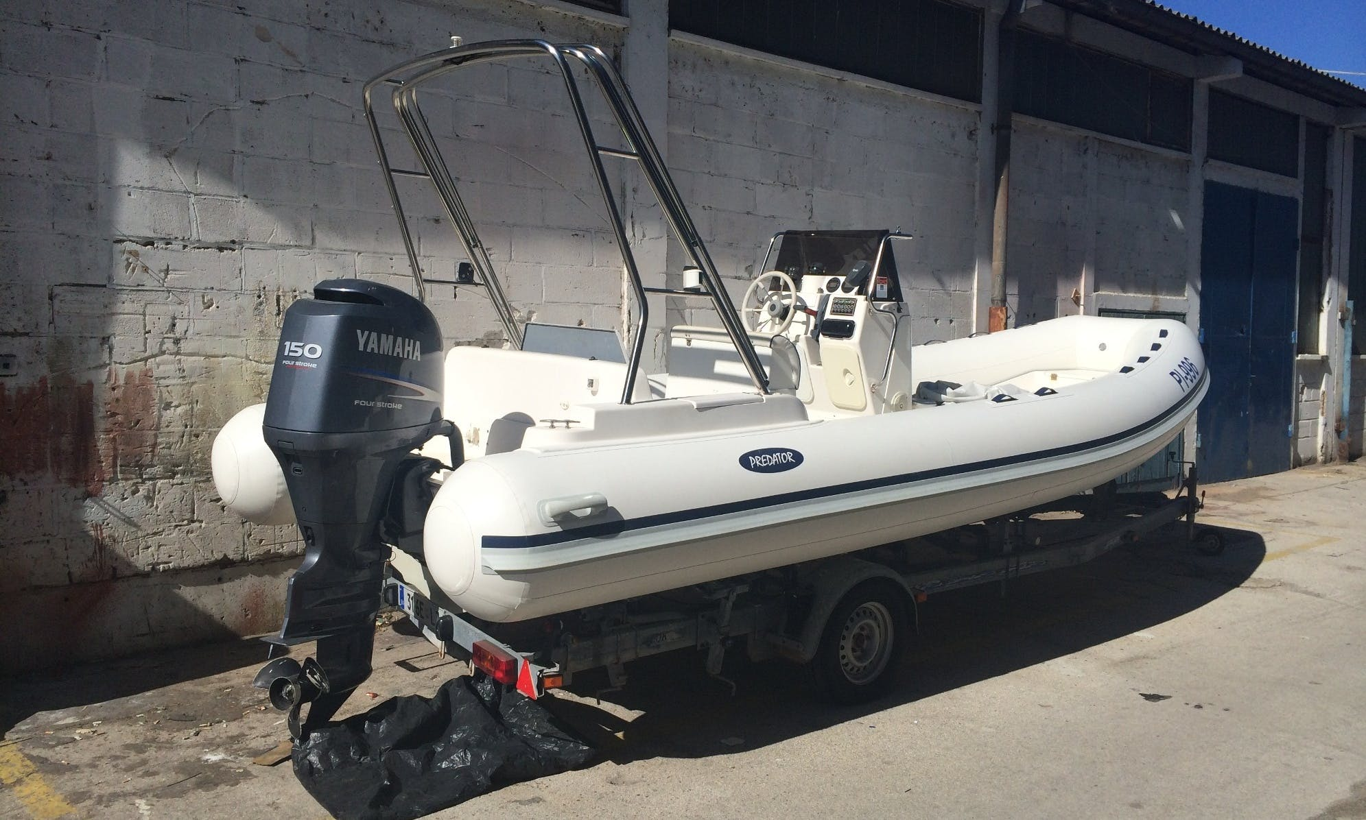 cheapest renting of RIB- Italboats Predator 660