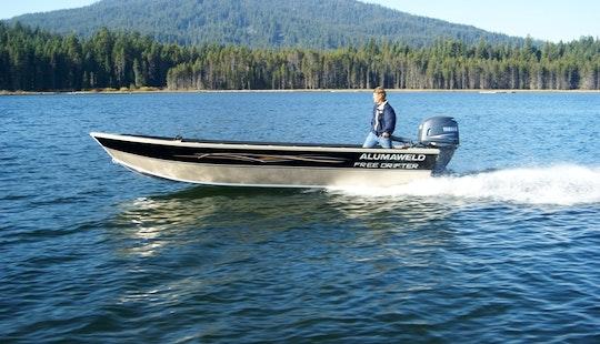 17' Bass Boat Rental In Portland, Oregon