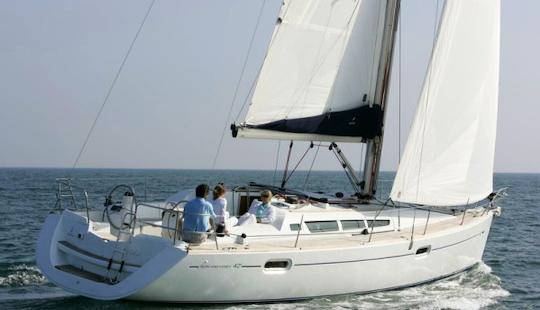 Sun Odyssey 42i  Charter In Punta Ala