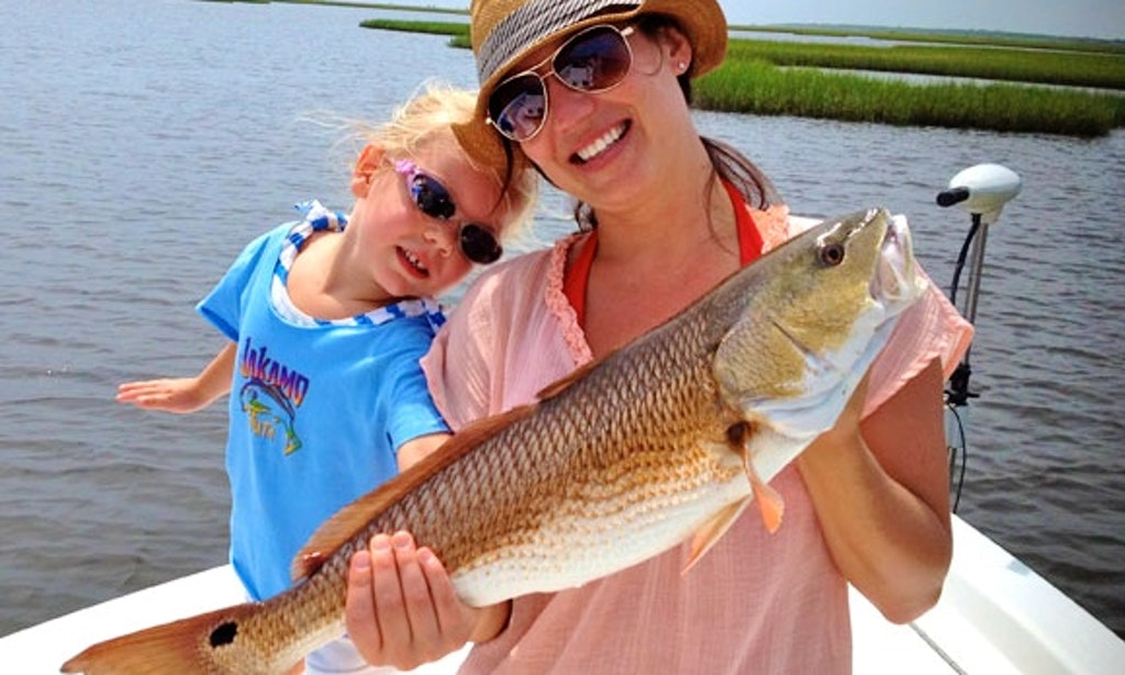 Inshore fishing charter with captain jakamo in st bernard for Louisiana inshore fishing charters