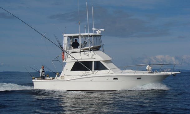 Charter on 50ft Sportfisherman Boat in Destin, Florida