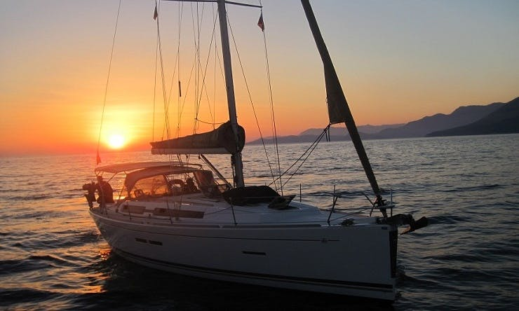 """Sailing Charter """"Dufour"""" in Montenegro"""