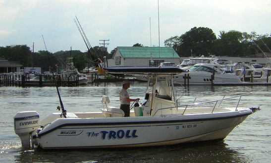 Its Fishing Time With Private Charter Center Console Rental In Brielle, Nj 6 People