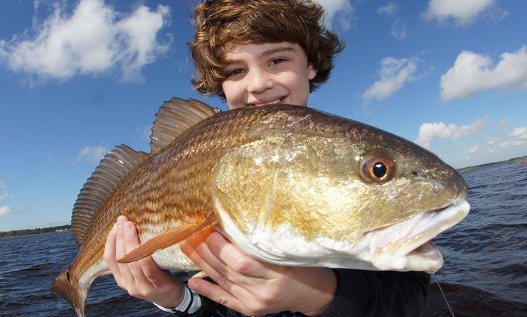 Guided Fishing Trip on 18' Action Craft Fishing Boat in Jacksonville