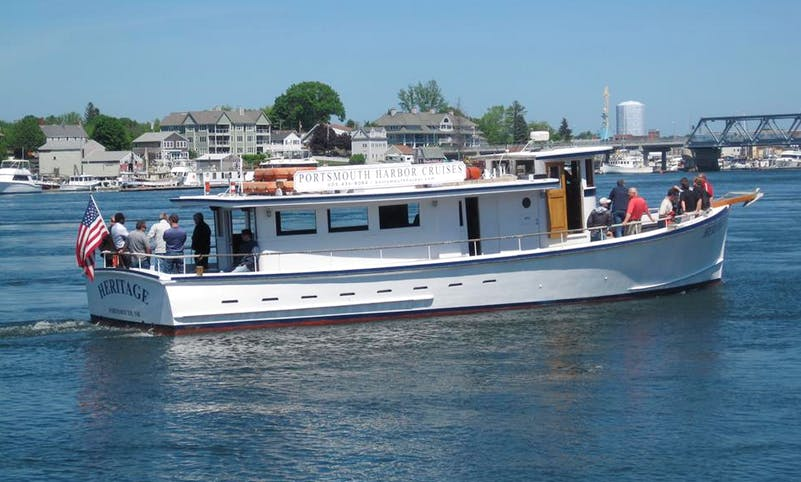 """Charter """"M/V Heritage"""" Trawler In Portsmouth, New Hampshire"""