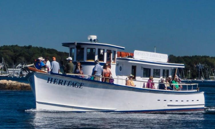 "Charter ""M/V Heritage"" Trawler In Portsmouth, New Hampshire"