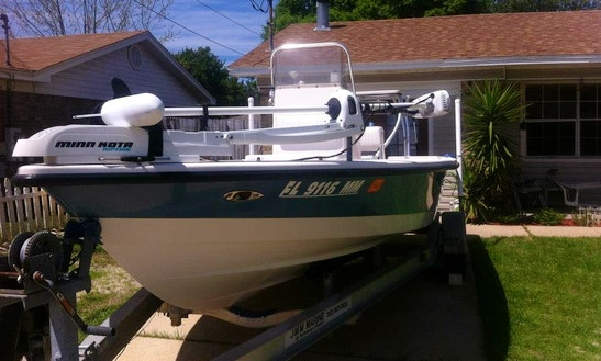 22' Pathfinder Fishing Charter In Gulf Breeze