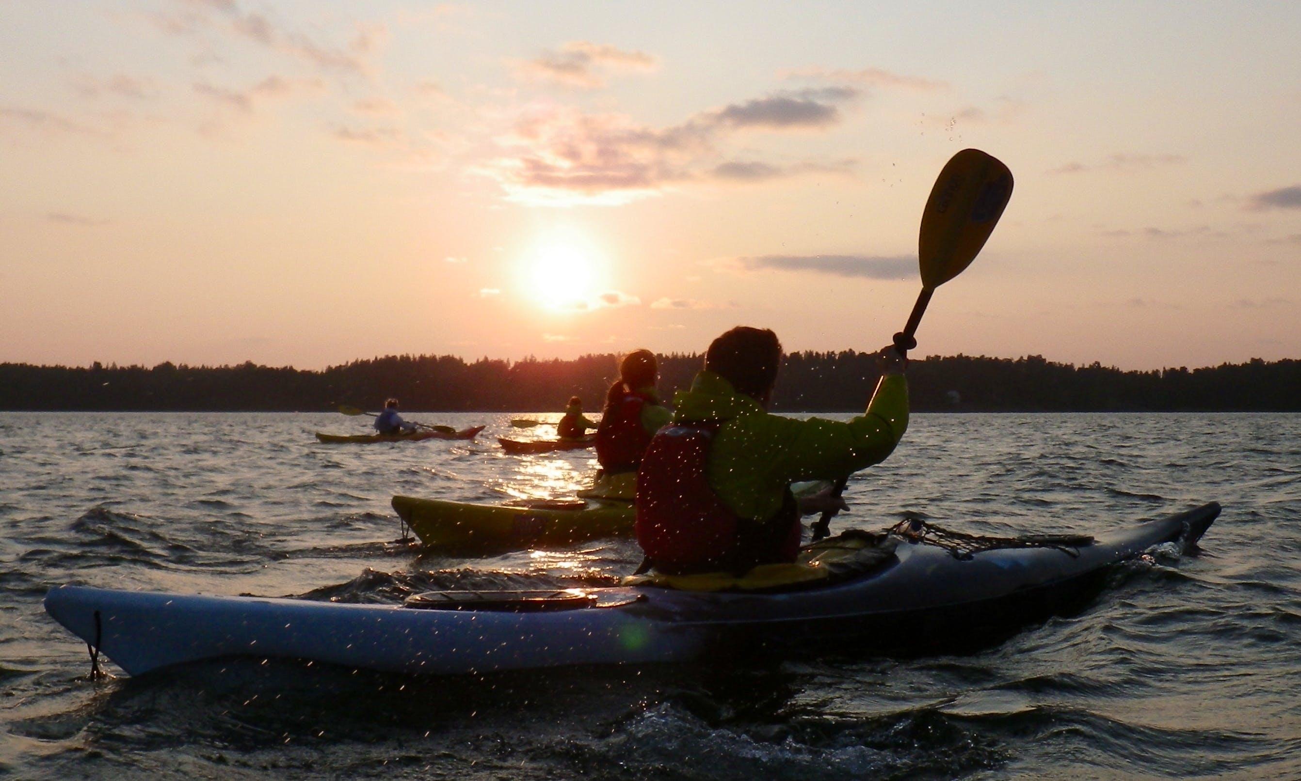 Kayak Rental in Helsinki