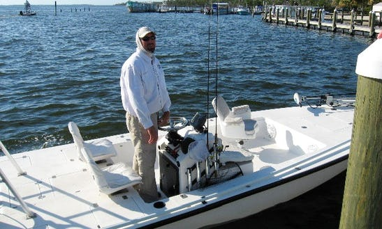 Enjoy 21' Lake And Bay Fishing Charter In Bokeelia, Florida