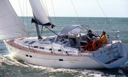 "Cruising Monohull Luxurous Oceanis 423 ""Morgana""' Charter in Punta Ala"