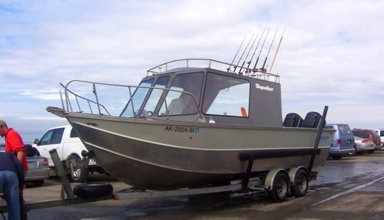 Fishing Tour On Kenai River In Alaska For 4 People