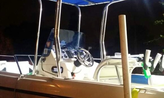 Exciting Fishing Trip In Miami Shores, Florida With A Center Console Boat
