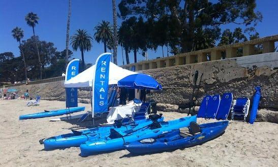 Tandem Kayaks For Rent In Santa Barbara