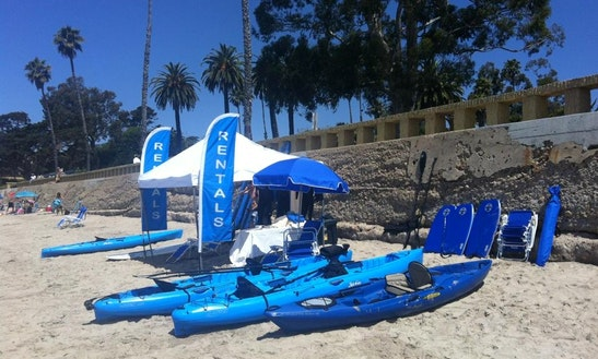 Tandem Kayaks For Rent In Santa Barbara