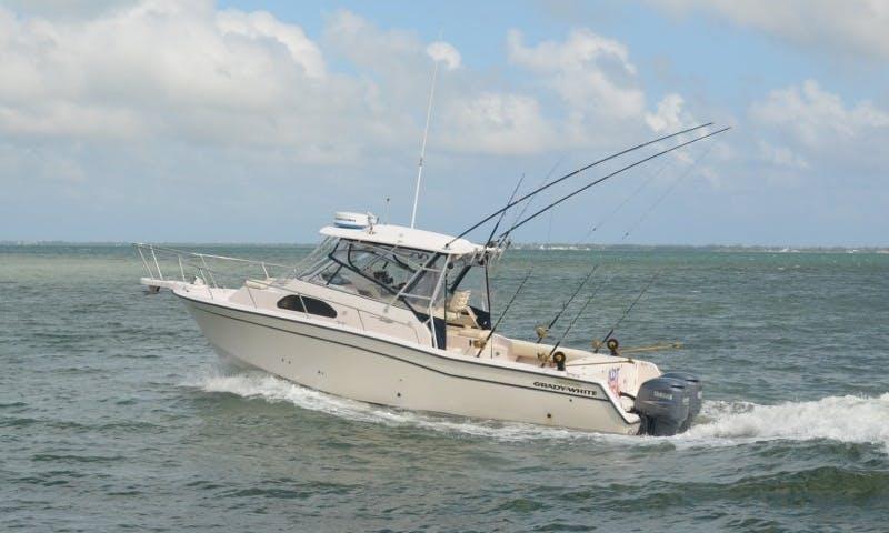30' Grady White Fishing Charter in West Bay