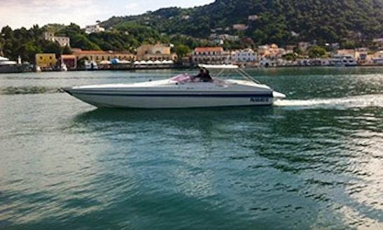 Charter 38' Benetti Offshore Motorboat In Ischia