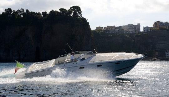 Charter 42' Tornado Motorboat In Ischia