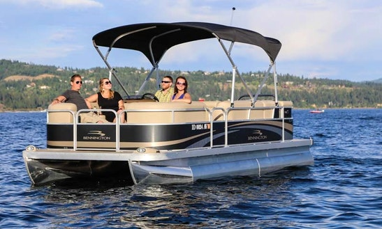 Bennington 20 Sl Pontoon Boat Rental In Spokane, Washington