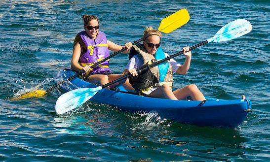 Rental Of Double Kayak In Longs,south Carolina