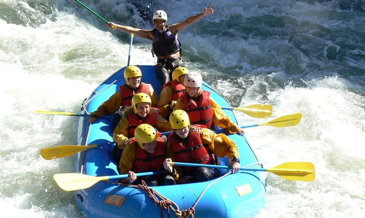 Urbamba River Rafting
