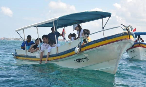 Glass Bottom Boat Tour in Bali