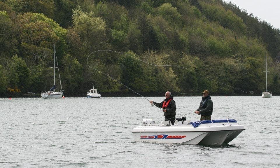 Seahawk Fishing Boat In Ireland