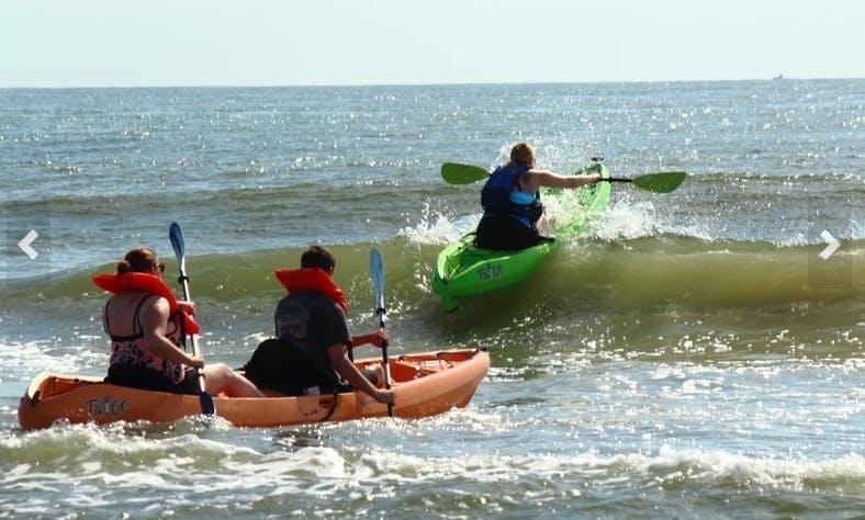 Guided Tandem Kayak Tour in Virginia Beach
