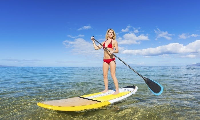 Stand Up Paddleboarding in Virginia Beach
