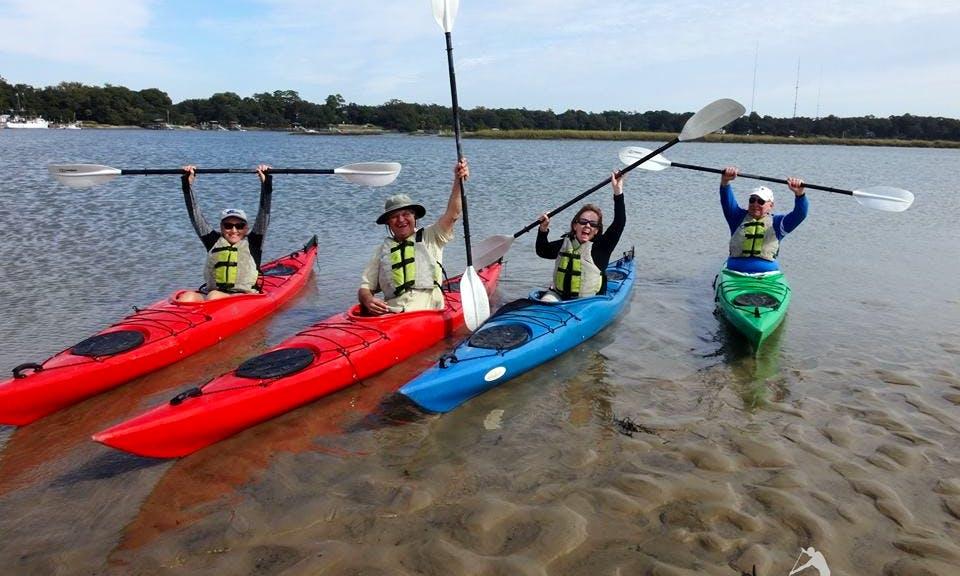 Guided Kayaking in Bluffton, South Carolina