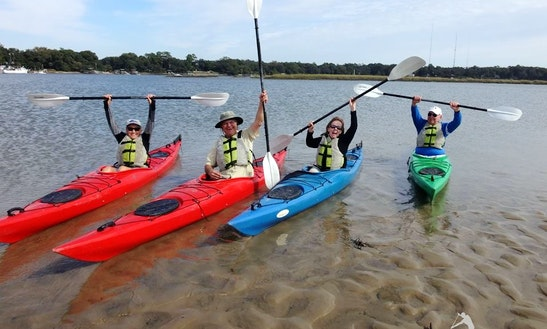 Guided Kayaking In Bluffton