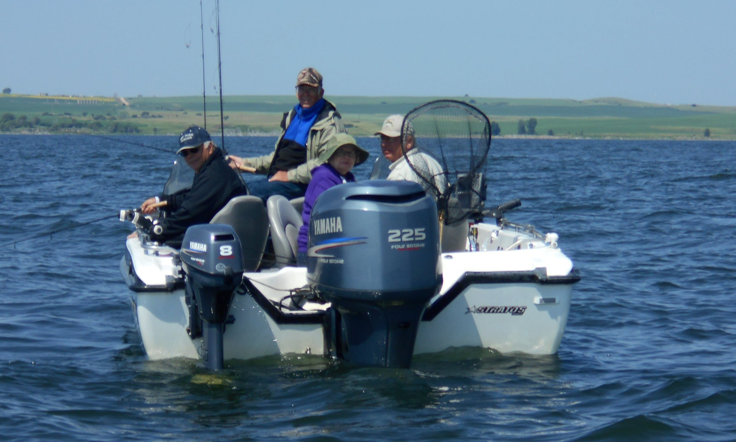 21' Walleye Fishing Guide Boat In North Dakota