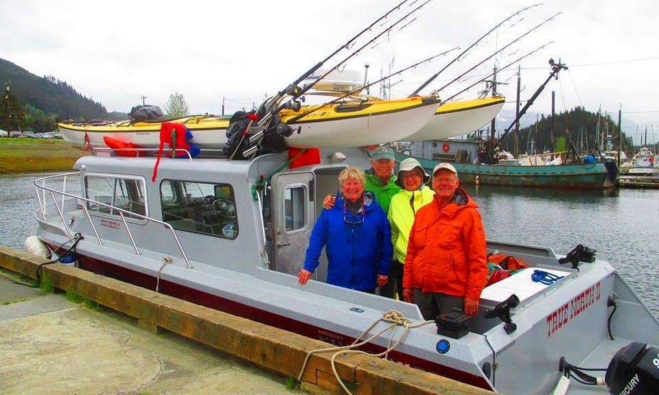 Halibut Fishing Icy Strait Point Hoonah, Alaska