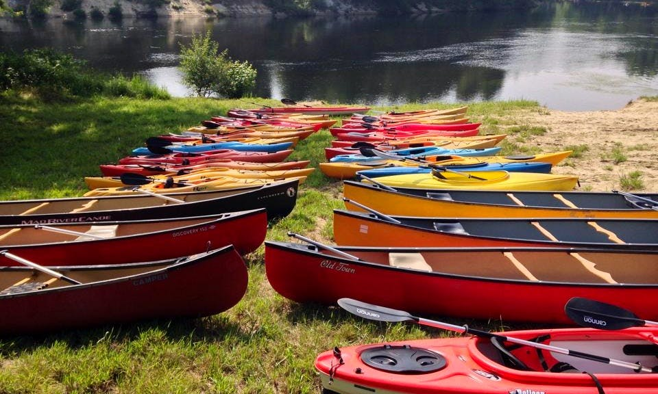 Canoe Rental In Concord