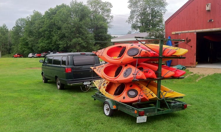 Tandem Kayak Rental In Concord