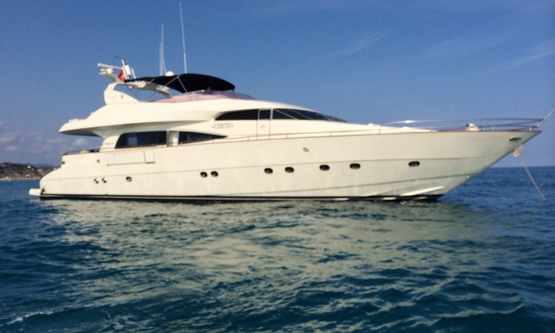 85' Yacht for charter in Barcelona, Spain