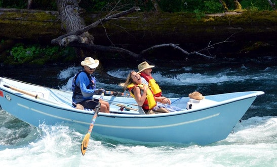 Row boat rentals in eugene for Fishing eugene oregon