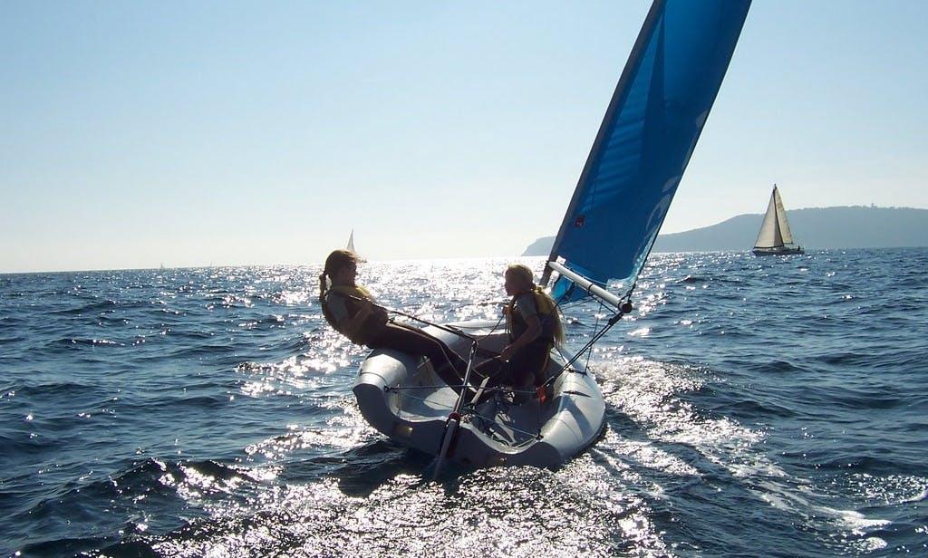Rent a Laser Pico Beach Monohulls in Liguria, Italy